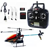 Syma F3 2.4g 4ch LCD Remote Control Rc Single Rotor Helicopter - Colors Vary