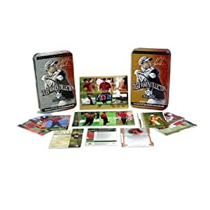 UD PGA Tiger Woods Collection Tin & Card Set