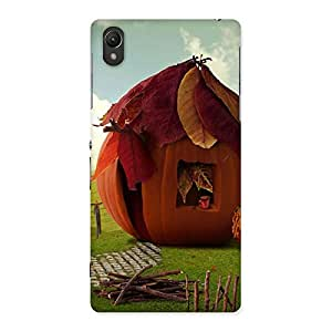 Cute Cutest Hut Print Back Case Cover for Sony Xperia Z2
