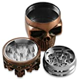 Crowned Skull Herb Grinder (Assorted) #21