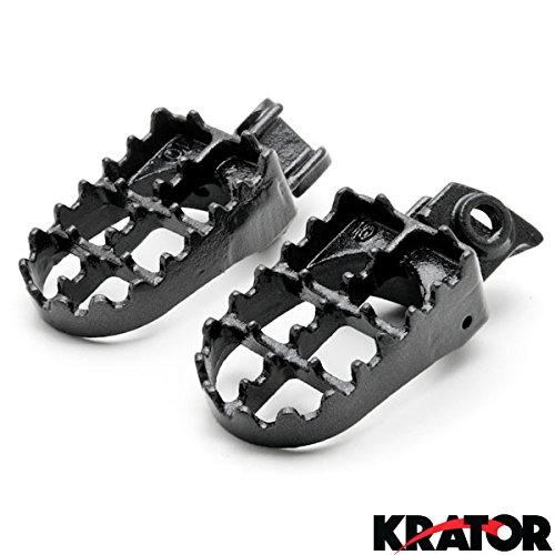 Krator MX Foot Pegs Motocross Dirt Bike Footrests L & R For 2005-2013 KTM 250 SX-F (Ktm 250 Sx Dirt Bike compare prices)