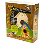 Paint Your Garden Bird House Kit