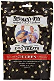 Newmans Own Organics Premium Dog Treats, Chicken, Small Size, 10-Ounce Bags (Pack of 6)
