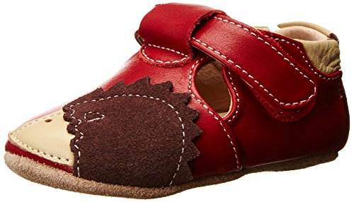 Livie & Luca Hedgie Baby Crib Shoe (Infant),Red,18-24 Months front-174344