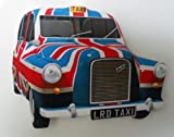 Union Jack London Taxi Fridge Magnet - LS17J
