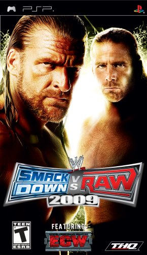 WWE Smackdown vs Raw 2009 (PSP)