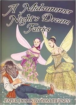 Midsummer Night's Dream Fairies Paper Dolls Paperback – November