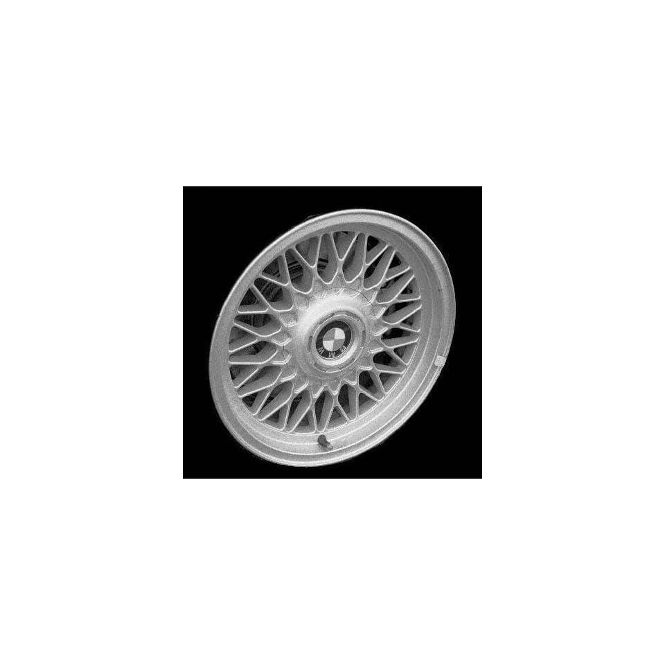 95 01 BMW 740IL 740 il ALLOY WHEEL RIM 16 INCH, Diameter 16, Width 8 (DIAMOND SPOKE, BBS), 23mm offset Style #5, SILVER, 1 Piece Only, Remanufactured (1995 95 1996 96 1997 97 1998 98 1999 99 2000 00 2
