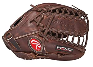 Rawlings Revo 750 Series 12.75-inch Trap-Eze Web Outfield Baseball Glove (7SC127PFDT) by Rawlings