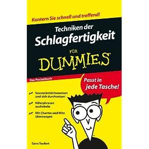 Techniken der Schlagfertigkeit für Dummies