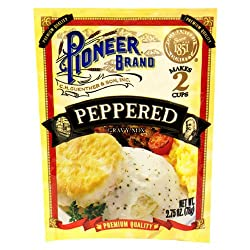 Pioneer Brand Gravy Mix, Peppered, 2.75-Ounce Packets (Pack of 24)