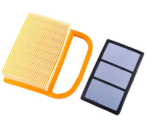 PODOY New Air Filter for Stihl TS410 TS420 TS480 TS500i Concrete Cutoff Chop Saw Replace 4238 141 0300 Stens 605-555 Rotary 12716