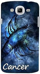 PrintVisa 3D-SGMEGA5.8-D8178 Zodiac Cancer Case Cover for Samsung Galaxy Mega 5.8 I9150