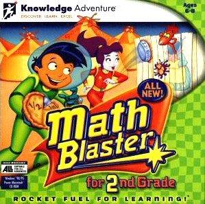 Amazon.com: Math Blaster for 2nd (Second) Grade