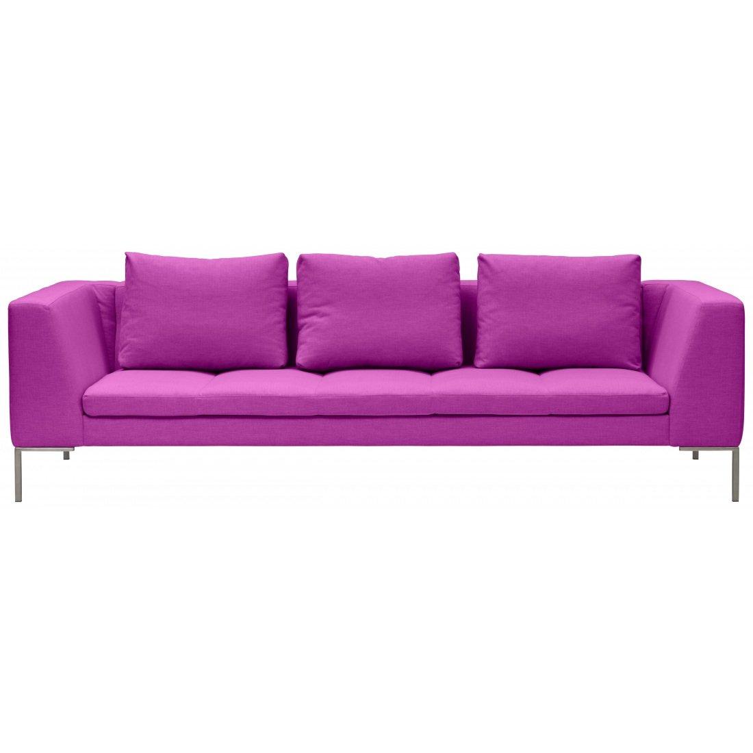 3-Sitzer Sofa Pink Designer Couch Sofa online bestellen