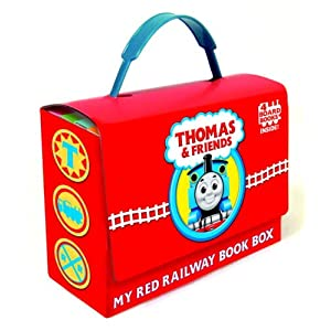 Thomas and Friends: My Red Railway Book Box (Thomas and Friends) (Bright & Early Board Books(TM))