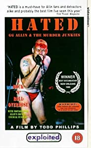 Hated - G.G. Allin And The Murder Junkies [VHS]