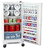 Summit 20.1 cu. ft. Commercial Grade Upright Freezer w/ Side Lock & Digital Thermostat SCUF20