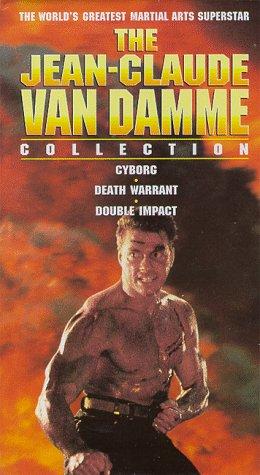 The Jean-Claude Van Damme Collection (Cyborg / Death Warrant / Double Impact) [VHS]