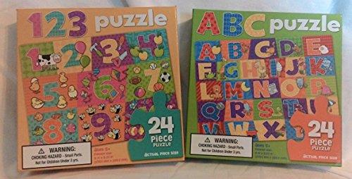 ABC/123 24-PIECE PUZZLES