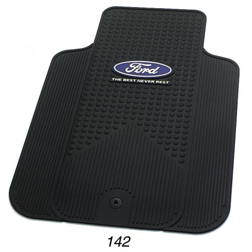 Ford The Best Never Rest Universal-Fit Molded Front Floor Mat - Set of
