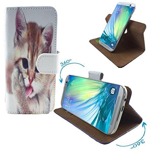 haier-l53-smartphone-tasche-schutzhulle-mit-360-dreh-und-standfunktion-360-katzen-2-nano-l