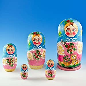 Toys games novelty gag toys nesting dolls