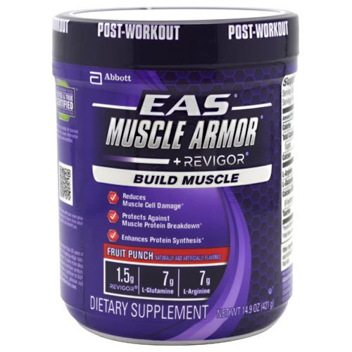 EAS Muscle Armor Fruit Punch 14 Servings Post Workout