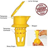 EcoJeannie Citrus Tap, Lemon Juicer Faucet (Patent Pending), Lime Squeezer, Juice Extractor