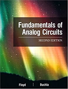 Fundamentals of Analog Circuits (2nd Edition) from Prentice Hall