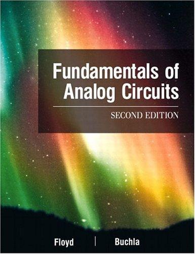 Fundamentals Of Analog Circuits (2Nd Edition)