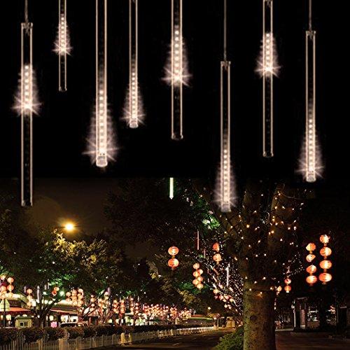 Finejo 50Cm Meteor Shower Rain Tubes Led Light For Christmas Wedding Garden Decoration