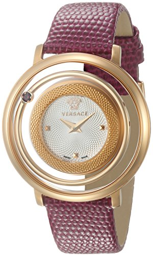 Versace-Womens-VQV050015-Venus-Analog-Display-Swiss-Quartz-Red-Watch