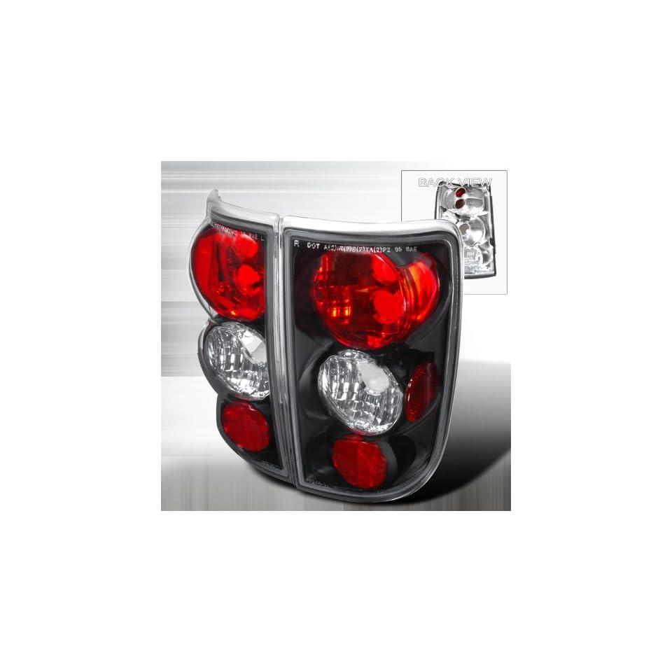 Chevy Blazer/ Gmc Jimmy/Envoy Black Housing Tail Lights