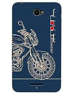 Benelli TNT 300 case for Sony Xperia E4