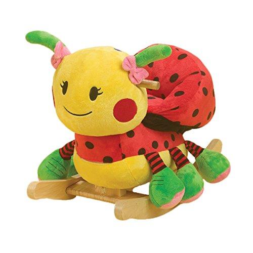 Rockabye Lulu Ladybug Rocker, Blue - 1