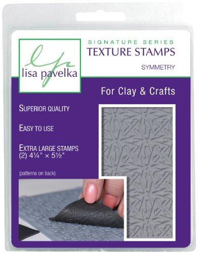 Lisa Pavelka 327019 Texture Stamp Kit Symmetry