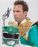 JASON DAVID FRANK as Tommy Oliver - The Green Ranger - Mighty Morphin Power Rangers GENUINE AUTOGRAPH