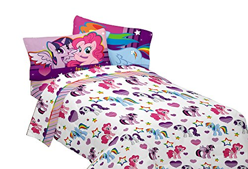 Hasbro MB4398 My Little Pony Ponyfied Full Sheet Set (Girls Sheets Full compare prices)