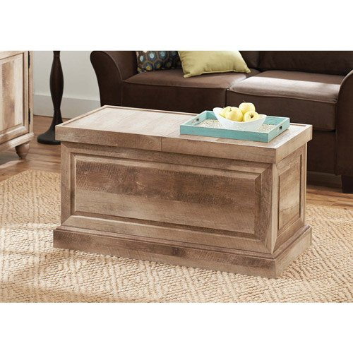 Better Homes and Gardens Crossmill Collection Coffee Table, Weathered (Better Homes And Gardens Table compare prices)