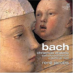 Image: Cover of recommended recording of Bach's Christmas Oratorio