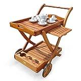 indoba® IND-70004-SW - Serie Sun Flair - Servierwagen aus Holz