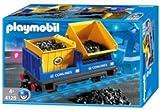 Playmobil - 4125 - Train Radio-commandé -  Wagon bennes, occasion d'occasion  Livré partout en France