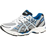 Asics Mens Gel Virage 6 Stability Running Shoes White/Black/Blue
