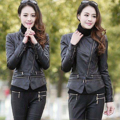 HMZH-450009 (PU leather jacket) High quality PU leather jacket t...