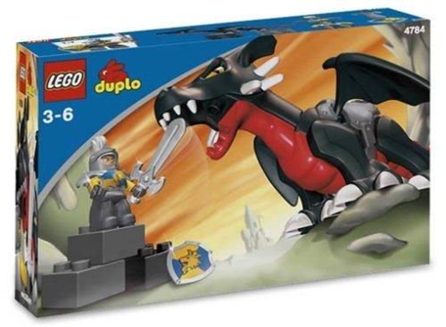 Lego Duplo Burg 4784 - Schwarzer Drache