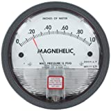 Dwyer® Magnehelic® Differential Pressure Gage, 2001, Range: 0-1