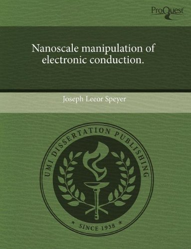 Nanoscale manipulation of electronic conduction.