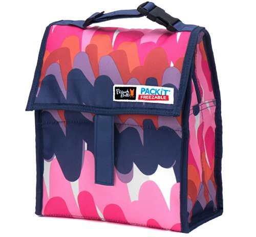 Packit Freezable Lunch Bag With Zip Closure, Bounce