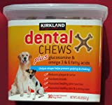 Dental Chews Plus Glucosamine & Omega 3 & 6 Fatty Acids, Chicken Flavored